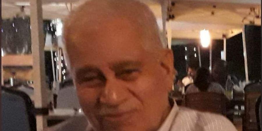 Former MLA from Panaji Baban Naik