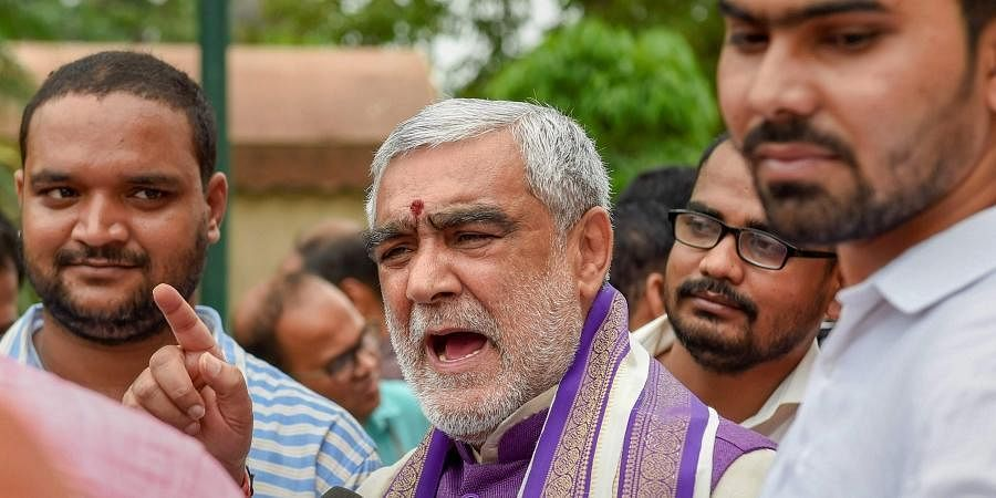 Union Minister Ashwini Choubey