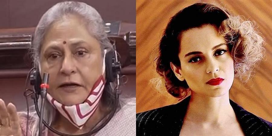 Veteran actress Jaya Bachchan (L) and Kangana Ranaut (R) (Photos   PTI)