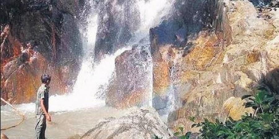 Waterfall at Dalasari in Mandasa mandal charms visitors  | EXPRESS