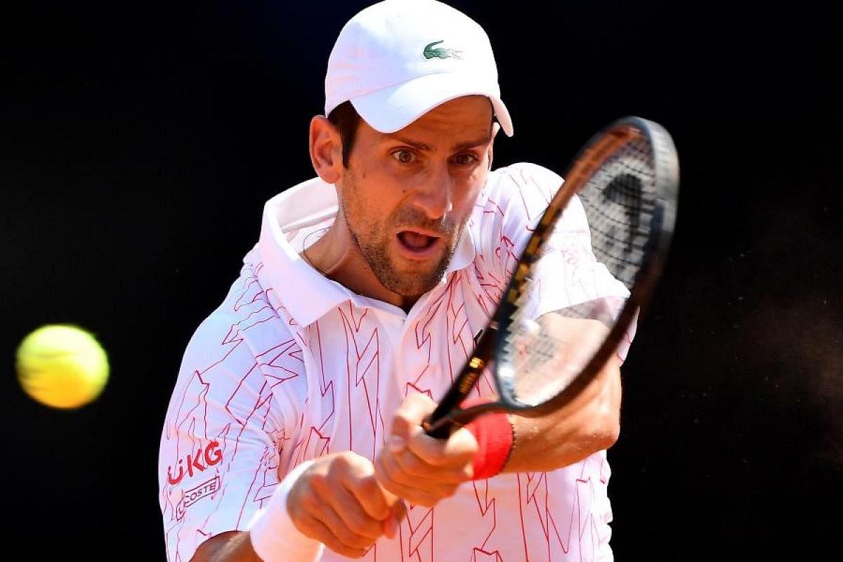 Novak Djokovic Behaves Better In First Match Since Us Open Default The New Indian Express