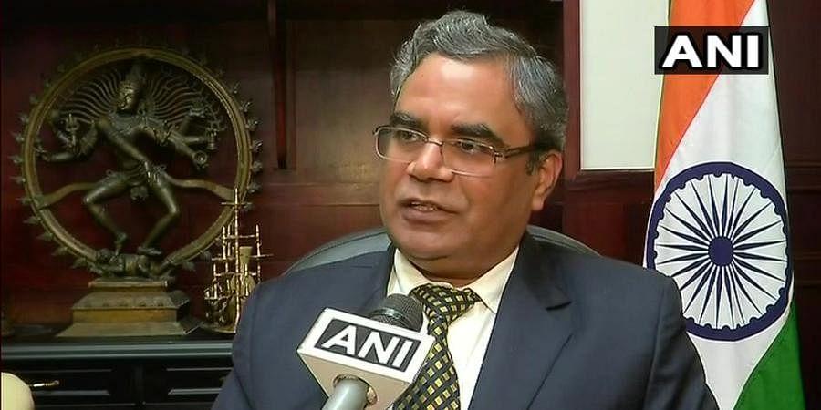 Indra Mani Pandey, permanent representative to UN