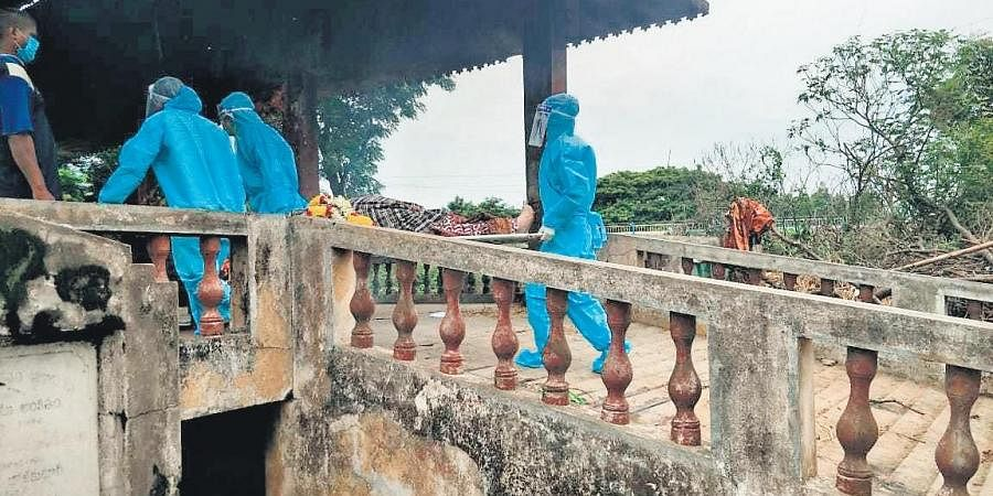 Over the past three months, Shyam Sundar performed the last rites of 12 people who succumbed to coronavirus in the district.