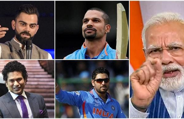 Virat Kohli, Sachin Tendulkar, Yuvraj Singh greet PM Narendra Modi on 70th birthday