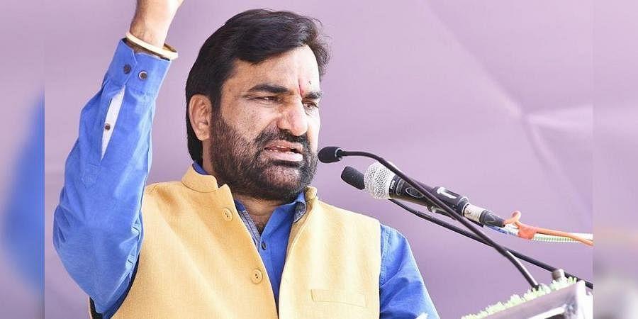 Rashtriya Loktantrik Party chief Hanuman Beniwal