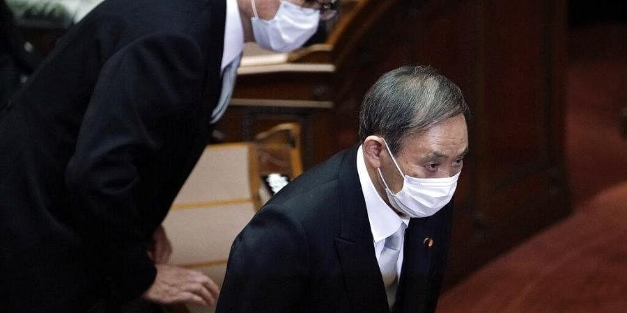 Japan new PM, Yoshhide Suga