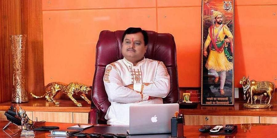 Sudarshan News Editor-in-Chief Suresh Chavhanke