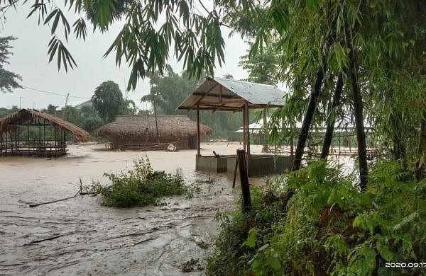 Flash floods kill 2 in Arunachal, cause extensive damage in 4 districts