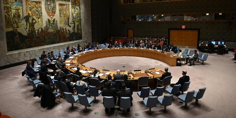 UN Security Council meeting at United Nations headquarters. (Photo | AFP)