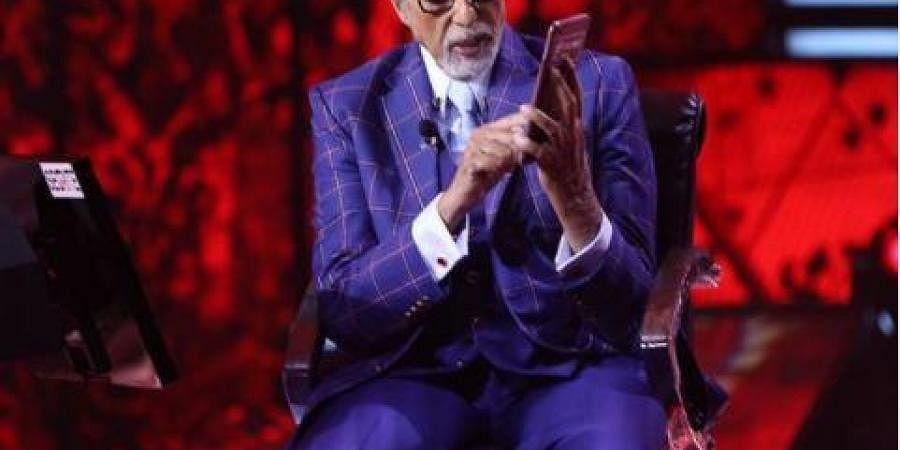 Amitabh Bachchan on 'Kaun Banega Crorepati.'