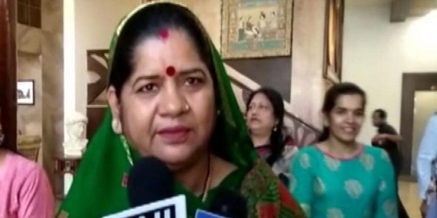 Madhya Pradesh WCD Minister Imarti Devi