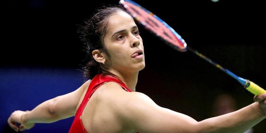 Indian badminton star Saina Nehwal