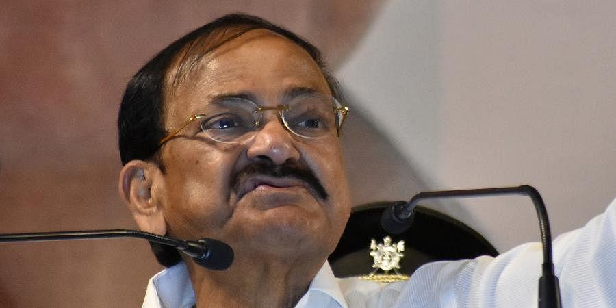 Rajya Sabha Chairman M Venkaiah Naidu