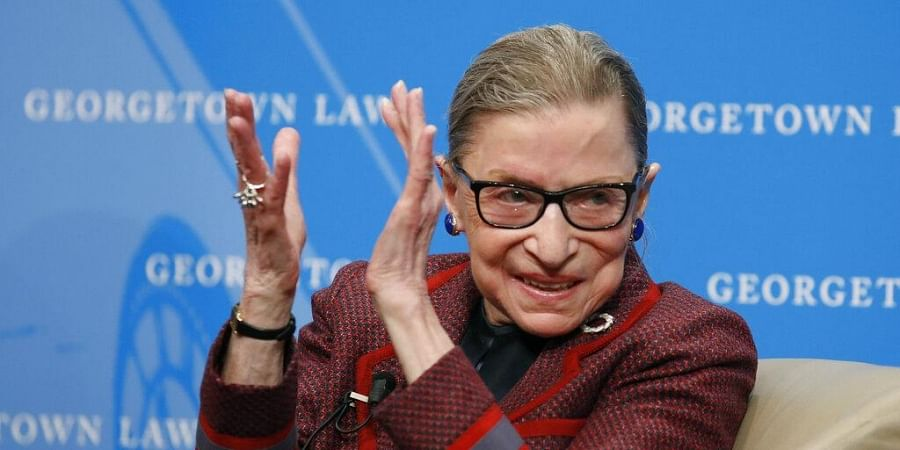 The Supreme Court says Ginsburg has died of metastatic pancreatic cancer at age 87. (Photo | AP)