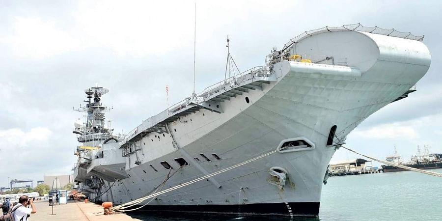Aircraft Carrier INS Viraat