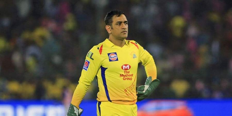 Chennai Super Kings skipper MS Dhoni