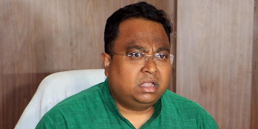 BJD MP Sasmit Patra