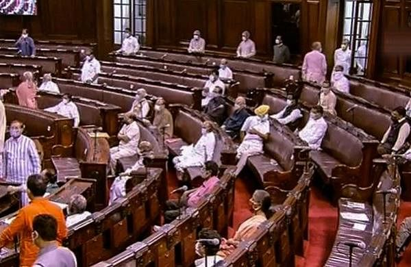 Eight Opposition MPs suspended from Rajya Sabha over ruckus on agriculture Bill