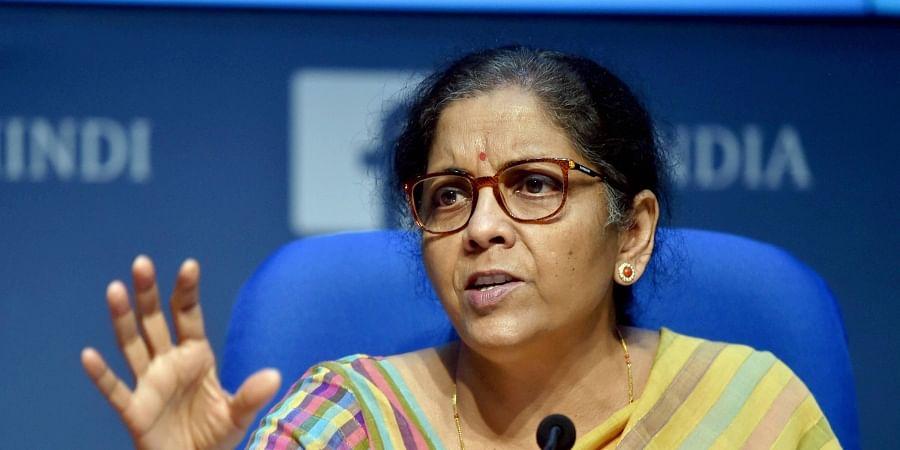 FM Nirmala Sitharaman
