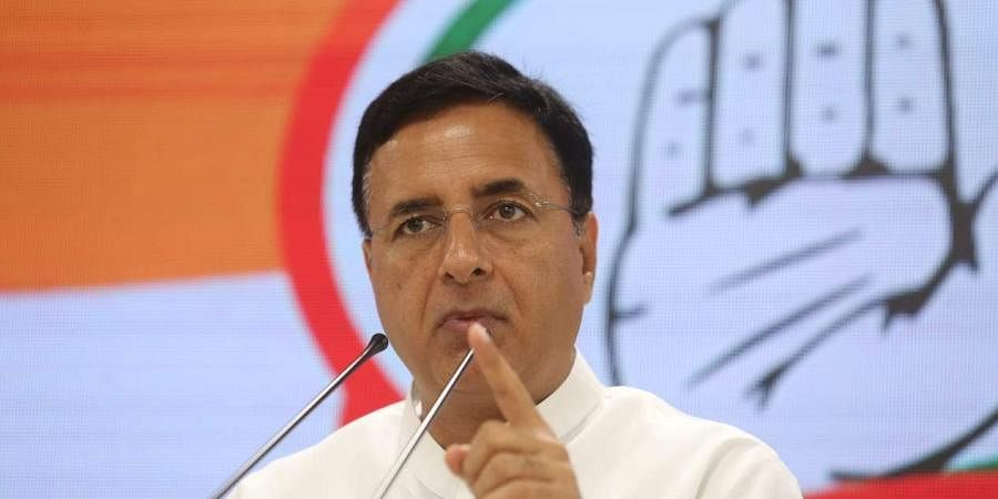 Senior Congress leader Randeep Singh Surjewala