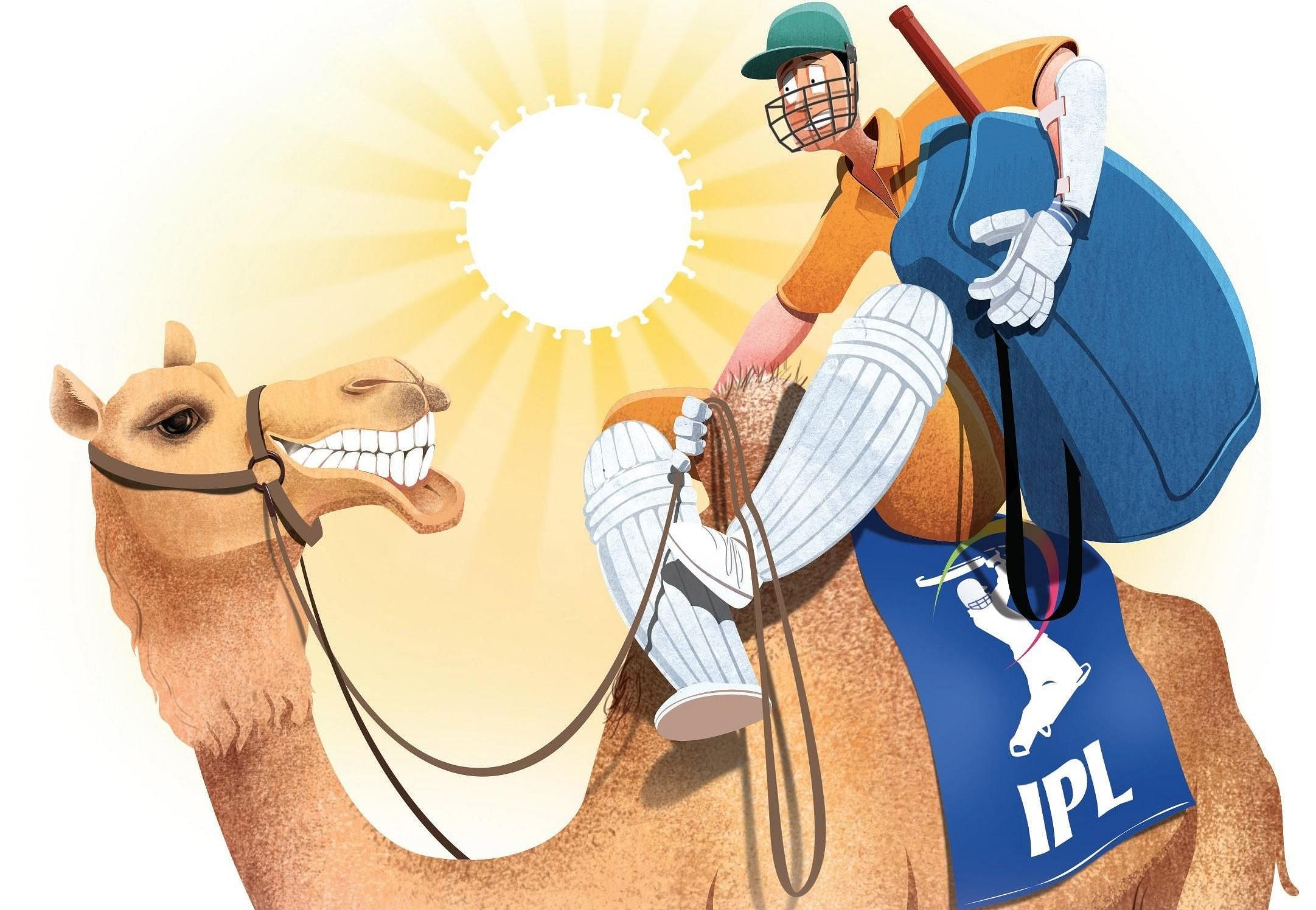After 12 successful seasons, the Indian Premier league is back despite the challenges of the coronavirus. In 2020, it is set to make and break many records but before that, here are some facts and tidbits of the IPL that will keep you to update. (Photo | Express Illustration/ Tapas Ranjan)
