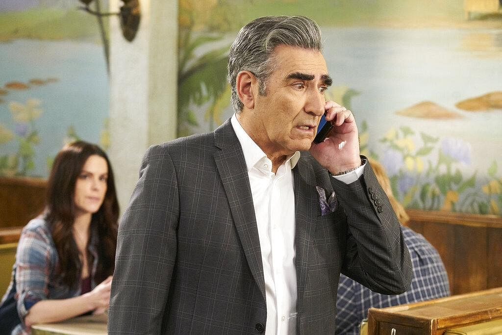 Will to survive: From living in a mansion to a motel - Rose family has seen it all and yet, they never lose their humour and hope. There's never a moment of despair in Schitt's Creek and even in its tragedy, you'll always find yourself in splits and strive to see the 'silver lining' on behest of the family. (Photo   AP)