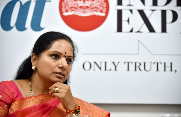Kalvakuntla Kavitha becomes first non-film south Indian woman politician to have one million Twitter followers