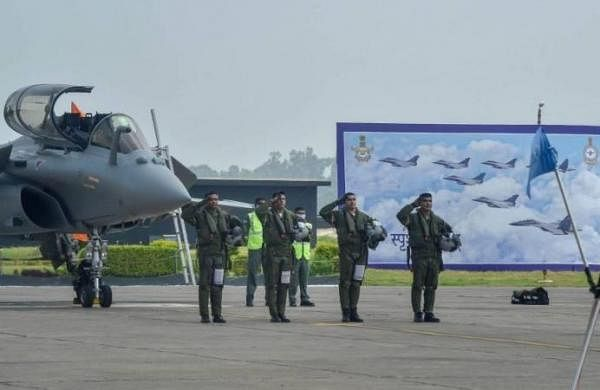 Rafale Fighter Jets(Photo | PTI)