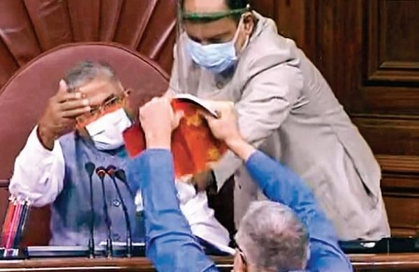 Harivansh's heckling by Rajya Sabha MPshas 'hurt'Bihar's prestige: Nitish Kumar