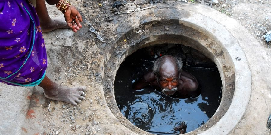Prohibition of Employment As Manual Scavengers and Their Rehabilitation Act, 2013 prohibits 'hazardous cleaning' of sewer and septic tank