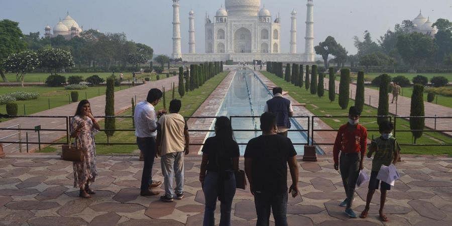 Taj Mahal, covid lockdown, unlock 4