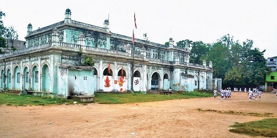 The historic Victoria Town Hall in Sambalpur