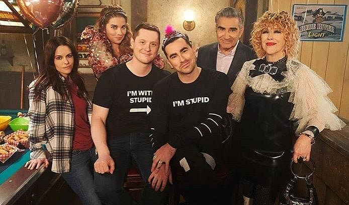 No place for bigotry in small towns: Schitt's Creek may seem to be in the middle of nowhere but its residents have only love to offer. A conscious decision to not fall prey to stereotype that rural towns perhaps aren't as 'broad minded' as city folks was quashed and rightfully so. Here, anything goes as long as it comes from a place of love and acceptance. (Photo   Instagram)