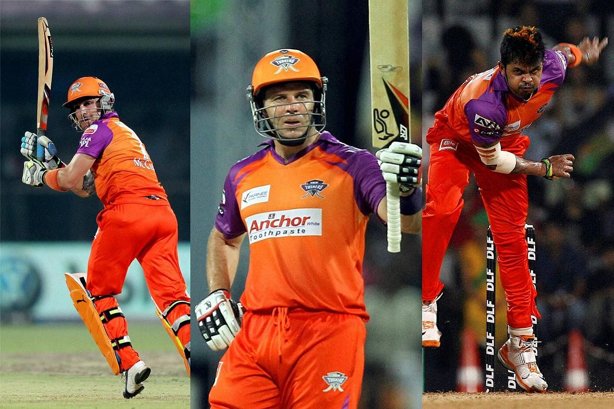 Kochi Tuskers Kerala: A franchise that lasted for only one year (2011).  Remembered for the no of legal issues the team got trapped in than any onfield performances. (File | PTI)