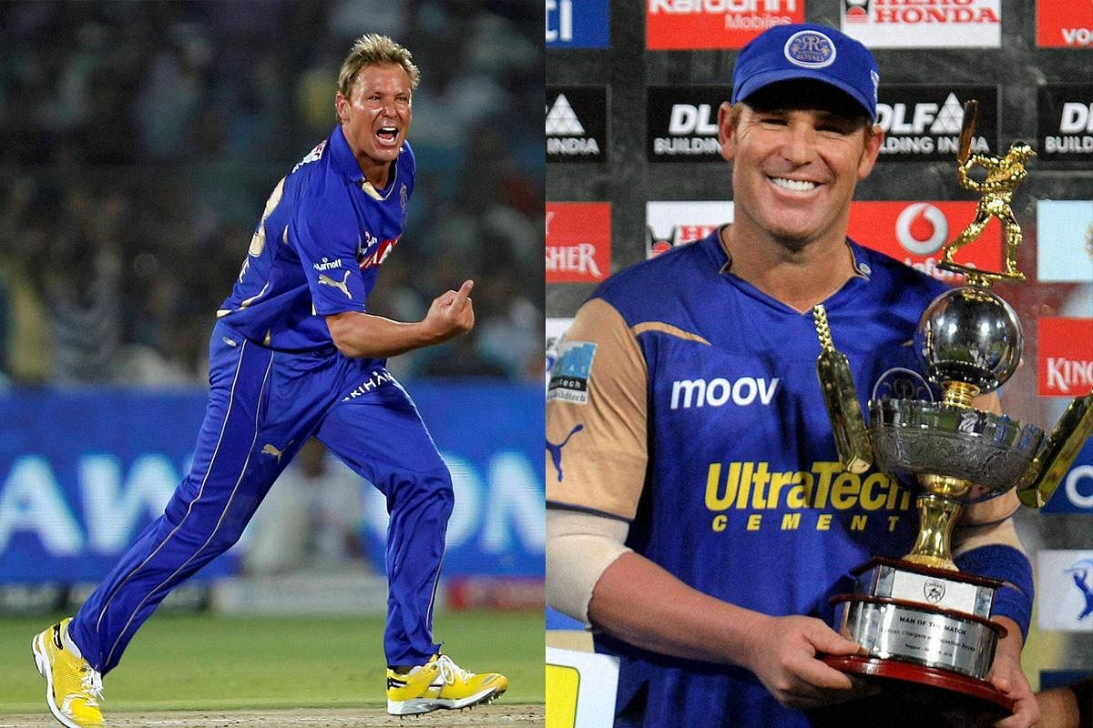 Quota: The quota of seven Indians and four foreigners that make up the team's 11 has always been maintained since the first edition in 2008. In picture, then Rajasthan Royals captain Shane Warne, the first skipper to lift the IPL trophy.