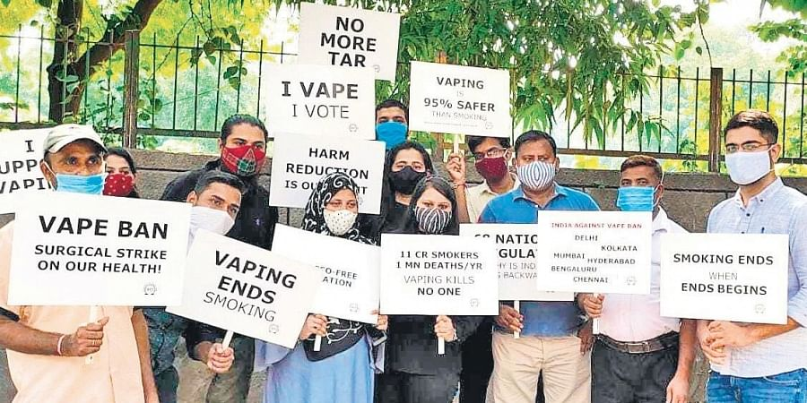 An online protest rally was also organised where ex-smokers, vapers and their family members, along with global health, legal and advocacy experts expressed anger over the arbitrary ban.