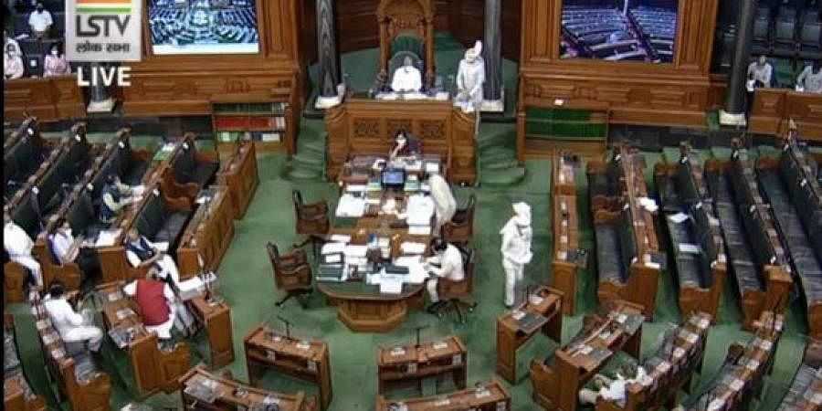 Lok Sabha sans Opposition. (Photo| screen grab)