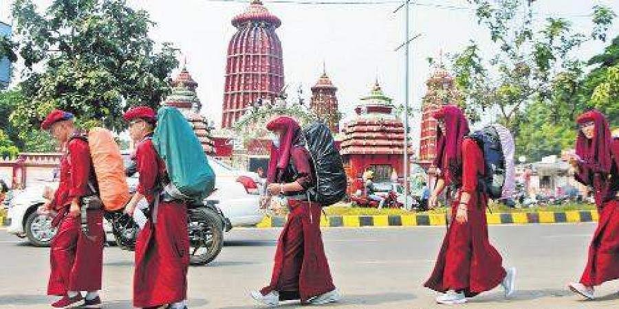 Buddhists, Monks