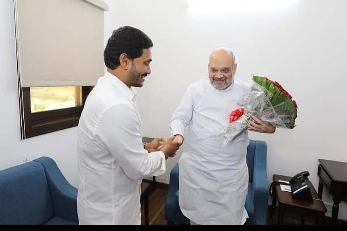 Jagan Mohan Reddy, Amit Shah discuss developments in Andhra Pradesh- The  New Indian Express