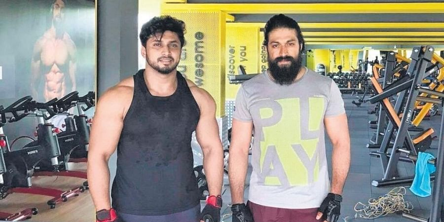 'Yash is going the extra mile and has doubled up on his workout routines while preparing to get back on the sets..' a close source to the actor said.