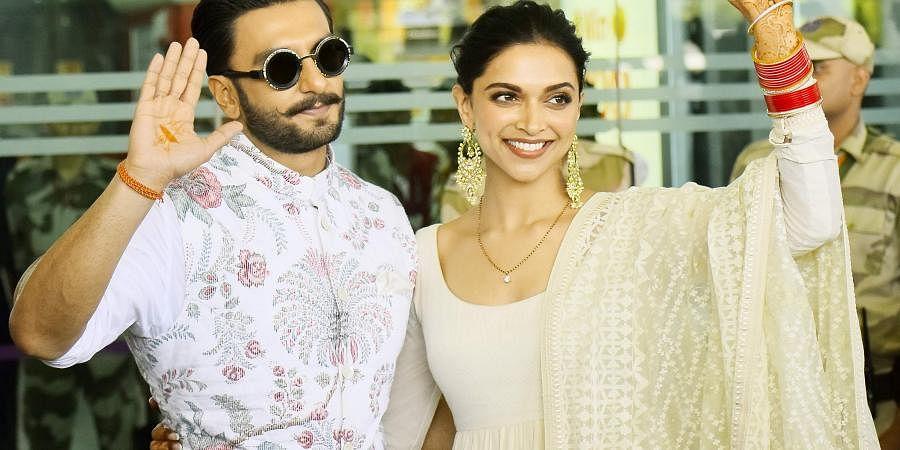 Actor-couple Ranveer Singh and Deepika Padukone.