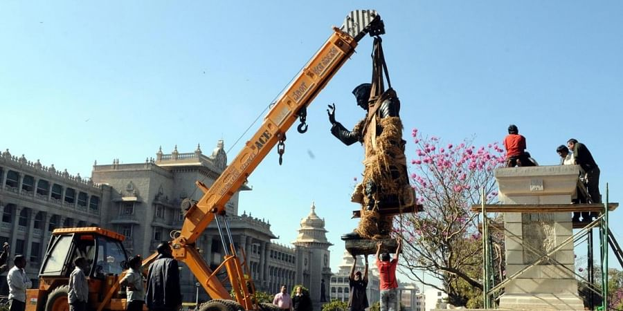 The Nehru statue was shifted five years ago to facilitate Metro Rail work