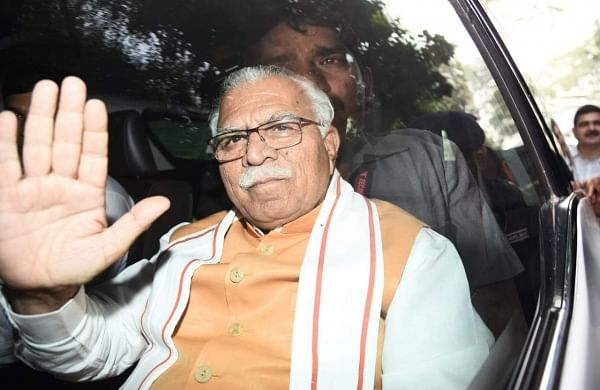 Manohar Khattar hits out at Amarinder, tells him to stop 'inciting innocent farmers'