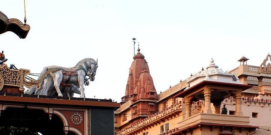 Krishna Janmabhoomi temple in UP's Mathura. (Photo| UP tourism)