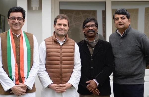 Ex-Jharkhand Congress chief Ajoy Kumar rejoins party