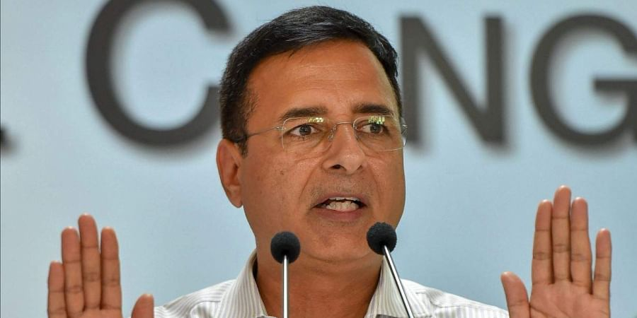 Congress' chief spokesperson Randeep Surjewala