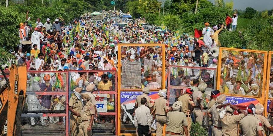 Punjab farmers protests