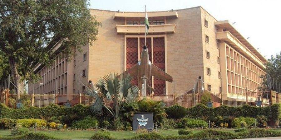 Indian Air Force Headquarters (Vayu Bhawan), Rafi Marg, New Delhi.