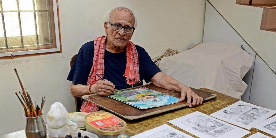 Artist Shankar or KC Sivasankar - Chandamama Magazine