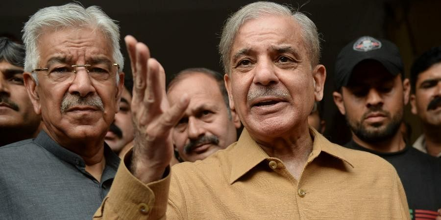 Pakistan's Leader of the Opposition and PML-N chief Shahbaz Sharif